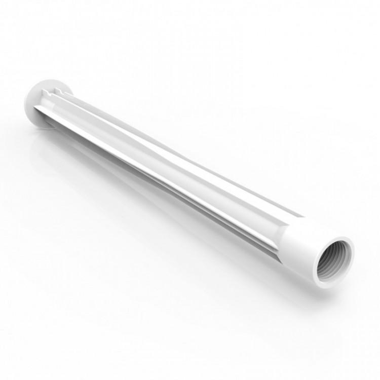 Braço para Chuveiro 40cm PVC Branco Enerbras