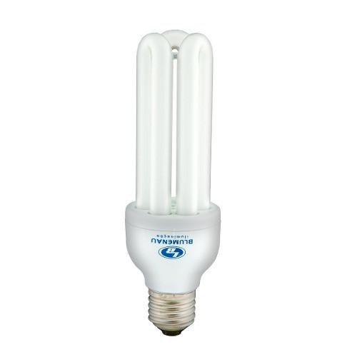 Lâmpada Fluorescente Compacta 3U 25W 127V Branca - Blumenau Iluminação
